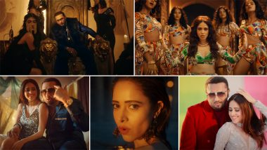 Saiyaan Ji: Nushrratt Bharuccha Marks Her Sizzling Music Video Debut With Yo Yo Honey Singh and Neha Kakkar's Peppy Track (Watch Video)