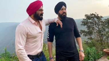 Salman Khan Shares a Photo Twinning With His Bodyguard Shera, Fans Ask If He Is Also a Part of Antim