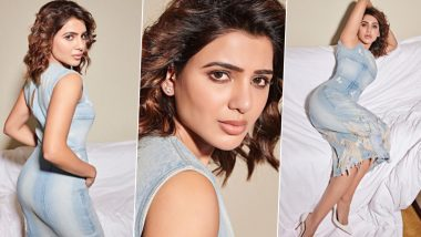 Samantha Akkineni Flaunts Her Love for Denim as She Promotes 'The Family Man' Season 2 (View Pics)