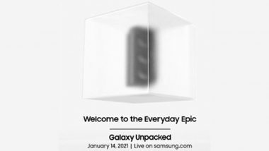 Samsung Galaxy Unpacked 2021: Galaxy S21 Series, Galaxy Buds Pro & Galaxy SmartTag to Be Launched Today