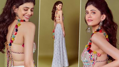 Yo or Hell No? Sanjana Sanghi in Payal Singhal for Mehendi Waale Haath Promotions