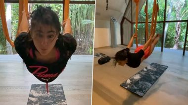 Sara Ali Khan Is 'Swinging into the Weekend' with This Innovative Style of Workout (Watch Video)