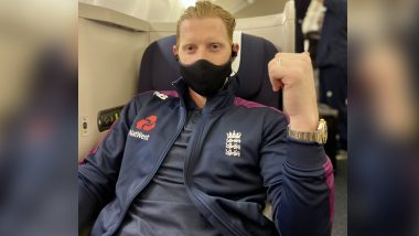 Ben Stokes Departs For India Ahead of Four-Match Test Series (See Post)