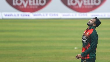 Shakib Al Hasan Takes Four-Wicket Haul on Return After Ban as West Indies Bundled Out for 122 in 1st ODI