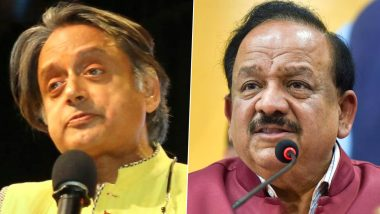 Shashi Tharoor Questions DCGI Approval for Covaxin, Seeks Clarification From Health Minister Dr Harsh Vardhan
