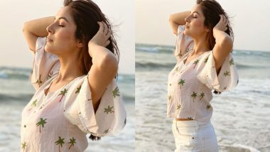 Shehnaaz Gill Takes The Internet By Storm As She Soaks In The Sun (View Pic)
