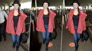 Shraddha Kapoor's Checkered Style Is All About How To Uplift a Basic Black Mood!