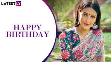 Shruti Haasan Birthday: From Gabbar Singh To Race Gurram, 5 Commercially Successful Films Of The Stunning Actress!