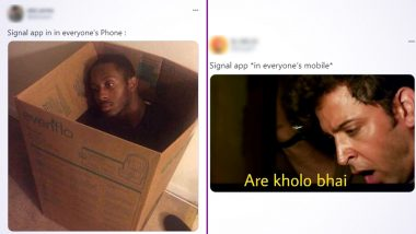 Signal App Funny Memes Continue to Trend Online With Hilarious Jokes as Everyone Downloads The Messaging Service But Still Uses WhatsApp to Chat!