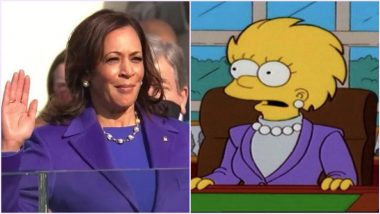 The Simpsons 'Predictions' Come True Again? Animated Show Predicted Kamala Harris' Purple Inauguration Outfit, Netizens Find Proof (Watch Video)