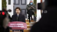 Bernie Sanders' Cameo in Justin Trudeau's Press Conference Is Churning out Funny Memes and Jokes! Canadian Prime Minister's Hilarious 'Stay Home' Jibe Goes Viral