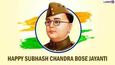 Subhash Chandra Bose Jayanti 2021 Greetings: WhatsApp Stickers, Powerful Quotes, Patriotic Messages, Signal HD Images and Facebook Posts to Honour the 124th Birth Anniversary of Netaji