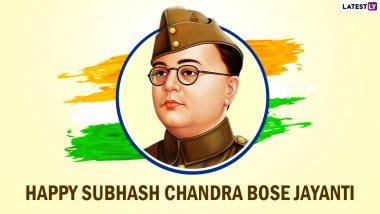 Netaji Subhash Chandra Bose Jayanti 2021 Messages, Wishes and WhatsApp Stickers