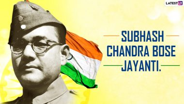 Netaji Subhas Chandra Bose Birth Anniversary 2021 Quotes, Wishes & Greetings: Send HD Images, Facebook Photos, Messages and Sayings on 'Parakram Diwas'