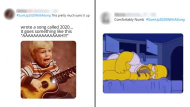 From 'Disaster Party' to 'Rock and (Toilet Paper) Rolls', #SumUp2020WithASong Twitter Trend Looks Back at The Year Through Some Hilarious Lyrics