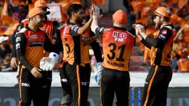 SRH Squad for IPL 2021: List of Retained & Released Players by Sunrisers Hyderabad Ahead of Mini Auctions