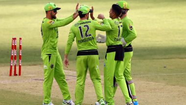 Perth Scorchers Women vs Sydney Thunders Women, WBBL 2021 Live Cricket Streaming: Watch Free Telecast of PS-W vs ST-W on Sony Sports and SonyLiv Online