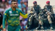 Tabraiz Shamsi Shares Video of Tight Security As South Africa Arrive in Pakistan for Bilateral Series After 14 Years
