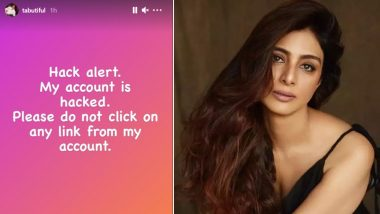 Tabu's Instagram Account Gets Hacked, Warns Fans To Not Click Any Suspicious Links
