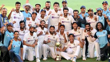 Sachin Tendulkar, Virender Sehwag, Wasim Jaffer and Other Cricket Stars Heap Praises on Team India After Historic Series Triumph Over Australia