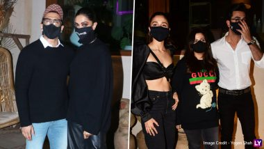 Deepika Padukone, Ranveer Singh Step Out for a Birthday Dinner With Alia Bhatt and Ranbir Kapoor (View Pics)