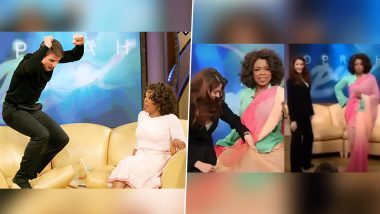 Oprah Winfrey Birthday Special: Tom Cruise Jumping On The Couch, Aishwarya Rai Bachchan Draping A Saree  - 10 Epic Moments From The Oprah Winfrey Show Revisited
