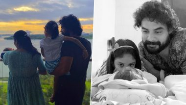 Tovino Thomas Birthday: 7 Pictures That Prove He Is a Doting Father to His Daughter Izza and Son Tahaan (View Pics)