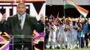 Triple H Lavishes Praises on Indian Cricket Team's Historic Test Series Triumph Over Australia, Calls Visitors' Effort as 'A WWE-Scripted Level of a Comeback'
