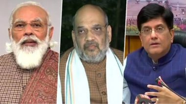 Republic Day 2021 Wishes: PM Narendra Modi, Piyush Goyal, Amit Shah & Others Greet People on India's 72nd Ganatantra Diwas
