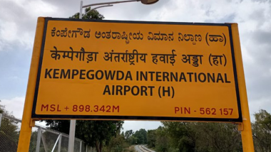 Bengaluru to Kempegowda International Airport in Just Rs 10, Here Are Details About the New Train Service Which Will Help Commuters to Escape Traffic, Check Schedule