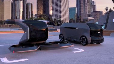 Cadillac Unveils Electric Drones Concept for Making People Fly (Watch Video)