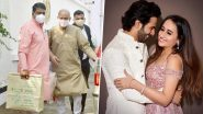 Varun Dhawan-Natasha Dalal Wedding: Priests Arrive at The Mansion House in Alibaug (View Pics)