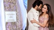 Varun Dhawan-Natasha Dalal's Wedding: Is This Gorgeous Pink Outfit Bride's Wedding Lehenga? (Pics Out)