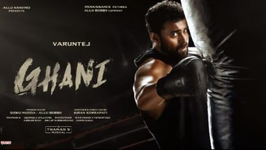 Ghani First Look: Varun Tej Konidela To Play The Role Of A Boxer In Kiran Korrapati's Next And His Rugged Avatar Is Impressive!