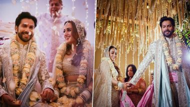 Varun Dhawan and Natasha Dalal are Married! Actor Shares First Pictures as a Couple With a Lovely Caption