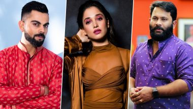 Virat Kohli, Actors Thammanna and Aju Varghese Get Notice from Kerala High Court in Connection with Petition Seeking Legal Prohibition on Online Rummy Games