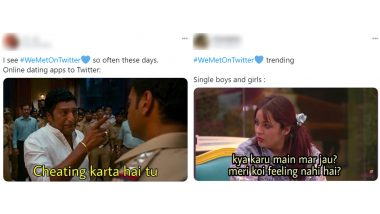 #WeMetOnTwitter Funny Memes Are Back! Single LOL At Themselves With 'Kya Karu Main Mar Jau' Jokes as Other Users Share Their Love Stories Via Microblogging App