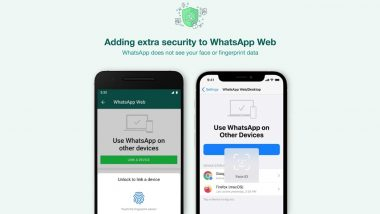 WhatsApp Web and Desktop Get Additional Security Layer, Here's How It Will Work