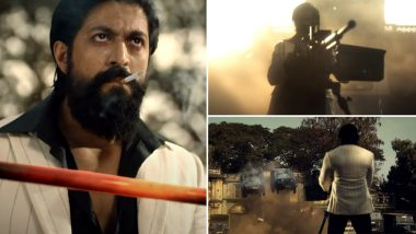 KGF Chapter 2 Teaser: Yash's Explosive Act With His Machine Gun Against The Enemies Makes His Fans Go Crazy!