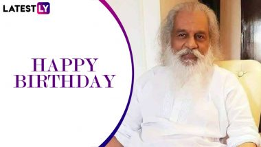 KJ Yesudas Birthday Special: 10 Tough Songs Sung by the Legendary Gaana Gandharvan That We Can Never Get Tired Listening To! (LatestLY Exclusive)