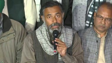 Farmers' Protest: Tractor March Will Be Taken Out at Four Borders of Delhi on January 7,  Says Swaraj India Chief Yogendra Yadav
