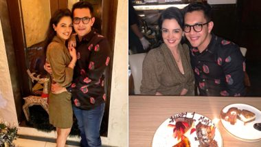 Aditya Narayan Shares Pictures With Shweta Agarwal Post Dinner Date On Their One Month Anniversary And Makes An Earnest Request To The Paparazzi