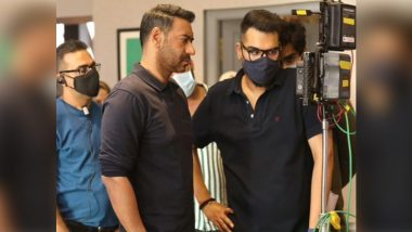 Ajay Devgn Wraps MayDay's First Schedule by Sharing a Pic From the Film's Set