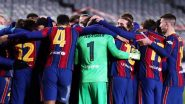 How To Watch Rayo Vallecano vs Barcelona, Copa Del Rey 2020–21 Free Live Streaming Online: Get Free Live Telecast Details of Round of 16 Football Match