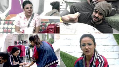 Bigg Boss 14 January 01 2021 Synopsis: Aly Goni and Rakhi Sawant Clash Over Jasmin Bhasin On the First Day of New Year
