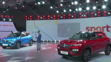 2021 Renault Kiger Sub-Compact SUV Unveiled in India; Check Launch Date, Features & Specifications Here