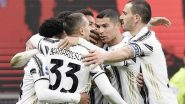 Juventus Drops Points Against Hellas Verona Despite Cristiano Ronaldo's Goal, Serie A 2021 Match Ends With 1-1 Draw (Watch Goal Highlights)