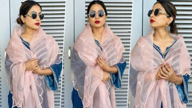 Hina Khan Exuding all the 'Vintage Fashion' Vibes With Her New Fashion Outing (View Pics)