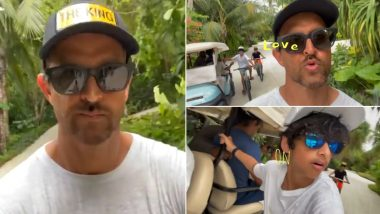 Hrithik Roshan Is Setting the Mood for the Weekend As He Shares a Throwback Video While Chilling With His Boys