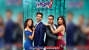 Hungama 2: Shilpa Shetty, Paresh Rawal Shoot For the Title Track of Their Upcoming Comedy-Drama